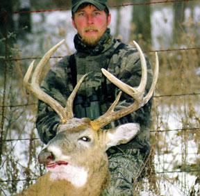Lease deer hunter