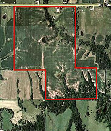 Iowa Zone 5 Map